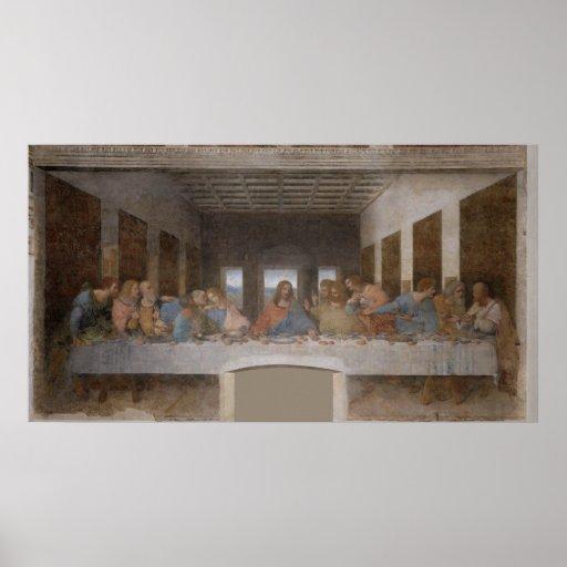 Le dernier dîner Última Cena par Leonardo da Vinci Affiches