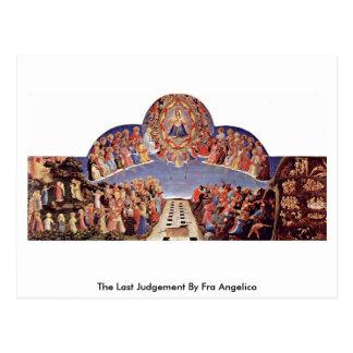Le dernier jugement par ATF Angelico Carte Postale