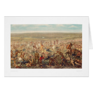 Le dernier support de Custer (0482A) Cartes