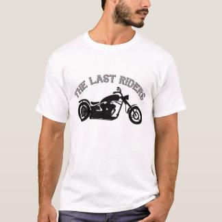 Le dernier T-shirt de cavaliers dans blanc/gris