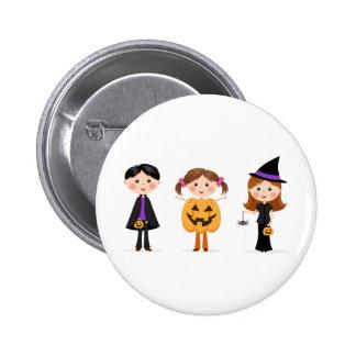 Le des bonbons ou un sort de Halloween badine le b Badge