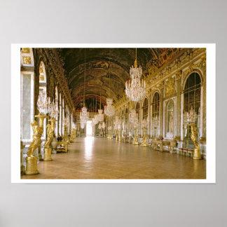 Le DES Glaces (Hall des miroirs) 1678 de Galerie ( Poster