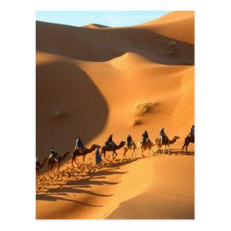 le désert-Maroc-Sahara Carte Postale