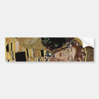 Le détail de baiser de Gustav Klimt (circa 1908) Autocollant De Voiture