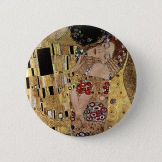 Le détail de baiser de Gustav Klimt (circa 1908) Badges