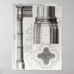 Le deuxième ordre de l'architecture gothique, 1741 affiche