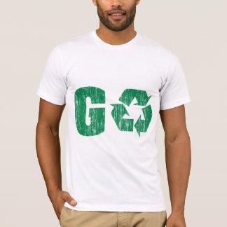 Le devenez écolo réutilisent t-shirt