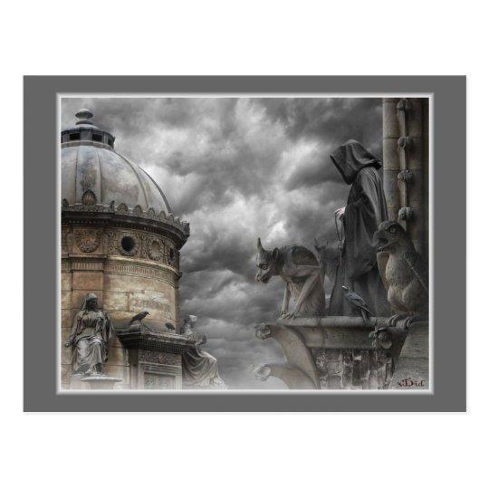 Le Diable carte postale - The Devil postcard