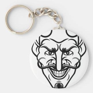 Le diable folâtre la mascotte porte-clés