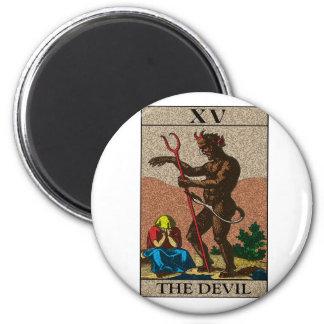 Le diable - tarot aimant