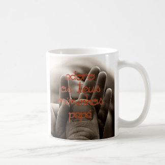 le diamètre de caneca font le pai tasses à café