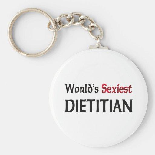 Le diététicien le plus sexy du monde porte-clef