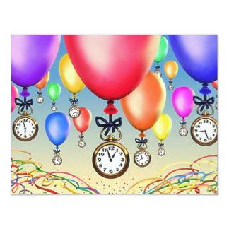 LE ~ D'INVITATION DE PARTIE DE RETRAITE MONTE EN CARTON D'INVITATION 10,79 CM X 13,97 CM