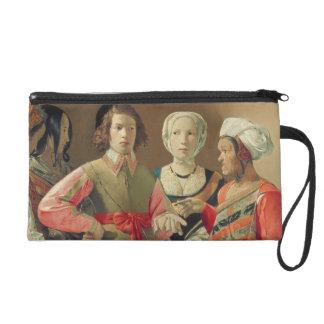 Le diseur de bonne aventure, c.1630 (huile sur la pochette avec dragonne