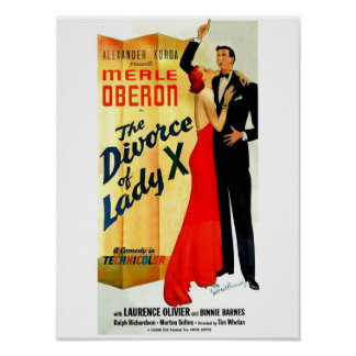 Le divorce de Madame X Poster Posters