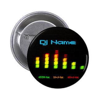 Le DJ ajoutent votre barre faite sur commande nomm Pin's