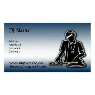 Le DJ - Amélioré Carte De Visite Standard