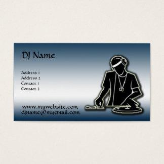 Le DJ - Amélioré Cartes De Visite