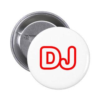 LE DJ BADGE AVEC ÉPINGLE