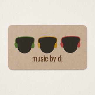Le DJ émouvant Cartes De Visite