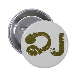 Le DJ énumèrent Badge Avec Épingle