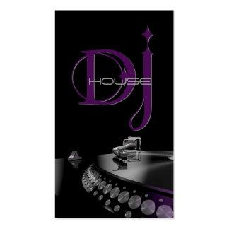 Le DJ musique carte de visite de divertissement