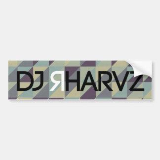 LE DJ RHARVZ AUTOCOLLANT DE VOITURE