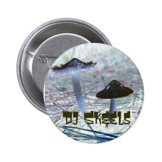 Le DJ Skeels Badge Avec Épingle