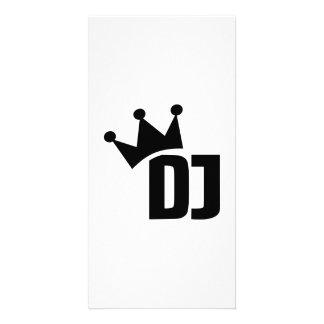 Le DJ soutiennent le gagnant Photocarte