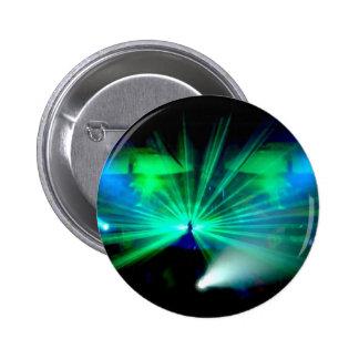 Le DJ sur l'insigne/bouton de plate-formes Pin's