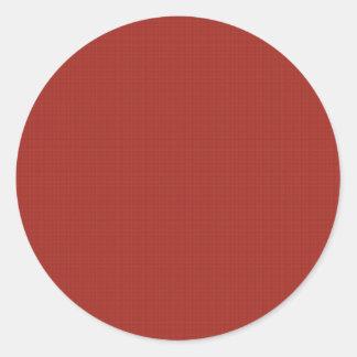 Le do-it-yourself créent votre propre bruit rouge sticker rond