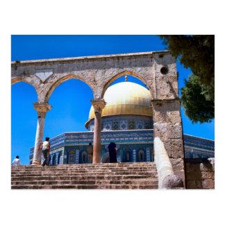 Le dôme de la roche, Jérusalem Carte Postale