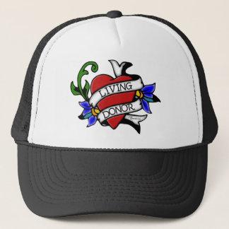 Le donateur vivant Tatouage-a inspiré le casquette