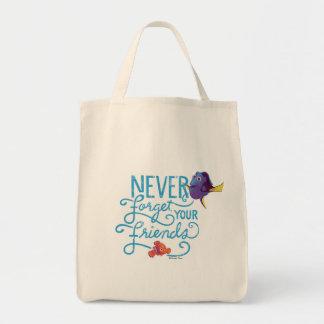 Le doris et le Nemo | n'oublient jamais vos amis Sac De Toile