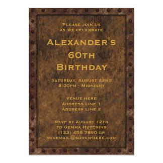Le double d'anniversaire de garçons d'effet carton d'invitation  12,7 cm x 17,78 cm
