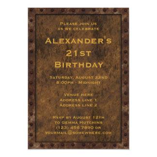 Le double d'anniversaire de garçons d'effet cartons d'invitation