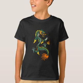 Le dragon chinois badine le T-shirts