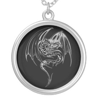 Le dragon de Wyvern sont les créatures mythiques Pendentif Rond