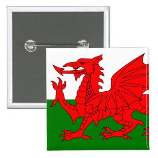 Le dragon rouge [drapeau du Pays de Galles] Pin's