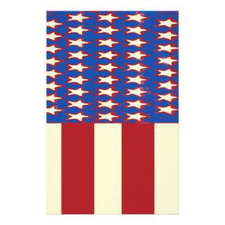 le drapeau 2017 célèbrent 4 juillet papeterie