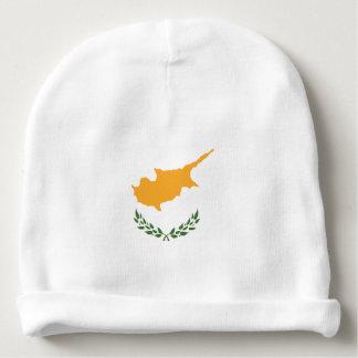Le drapeau abstrait de la Chypre, Chypriote colore Bonnet De Bébé