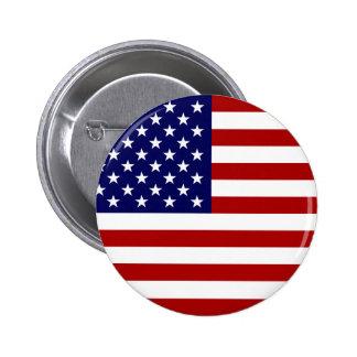 Le drapeau américain badges
