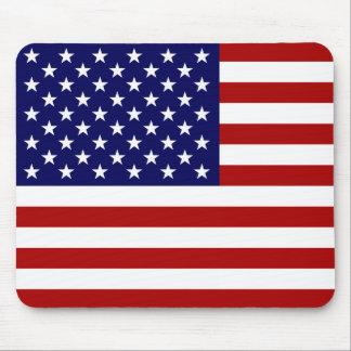 Le drapeau américain tapis de souris