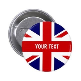 Le drapeau britannique boutonne Union Jack Badges