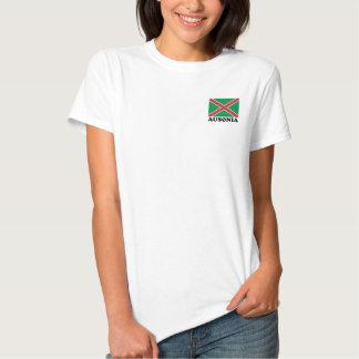 Le drapeau d'Ausonia - bandiera di Ausonia de La T-shirt