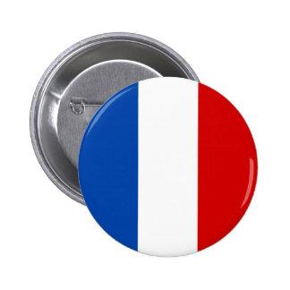 Le drapeau de la France Badges