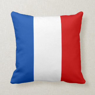 Le drapeau de la France Oreillers