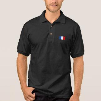 Le drapeau de la France Polo