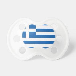 Le drapeau de la Grèce Tétine