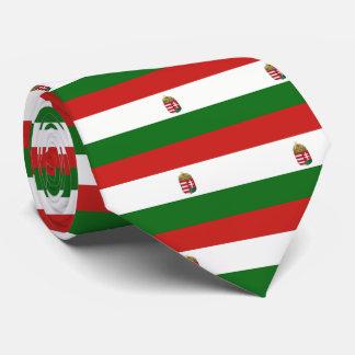Le drapeau de la Hongrie Cravates